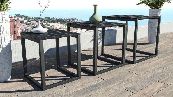 3 tables modern