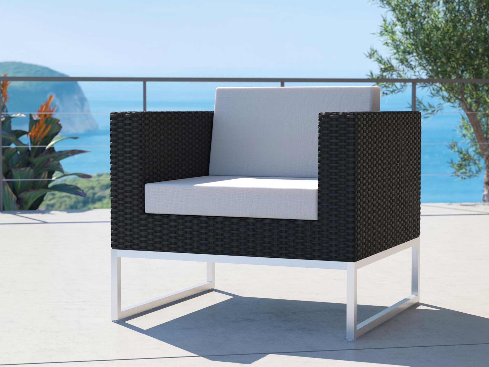 Single Element Alivera single armchair