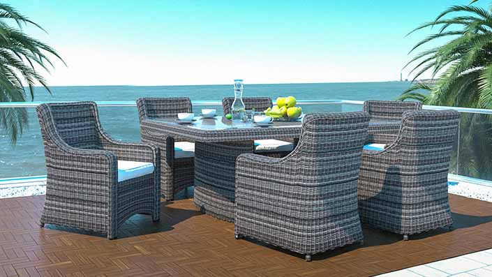 Catalaya L - Rattan Dining Collection