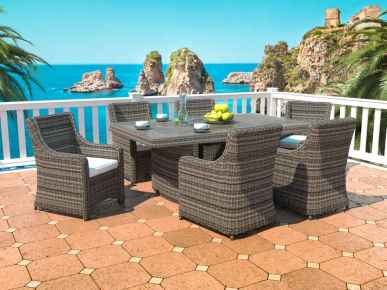 Rattan Dining Collection - Catalaya L