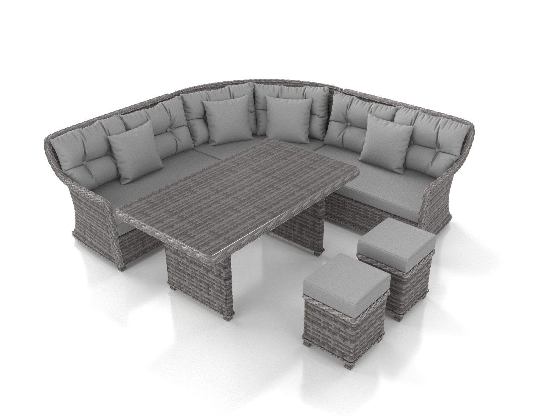 Artelia buy garden lounge set enigma free uk delivery - Salle a manger avec banc ...