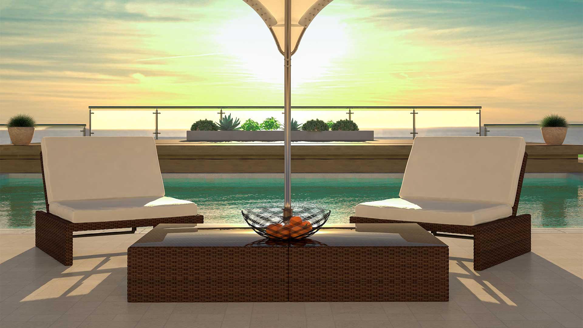 Artelia Outdoor Lounge Set Estoria M