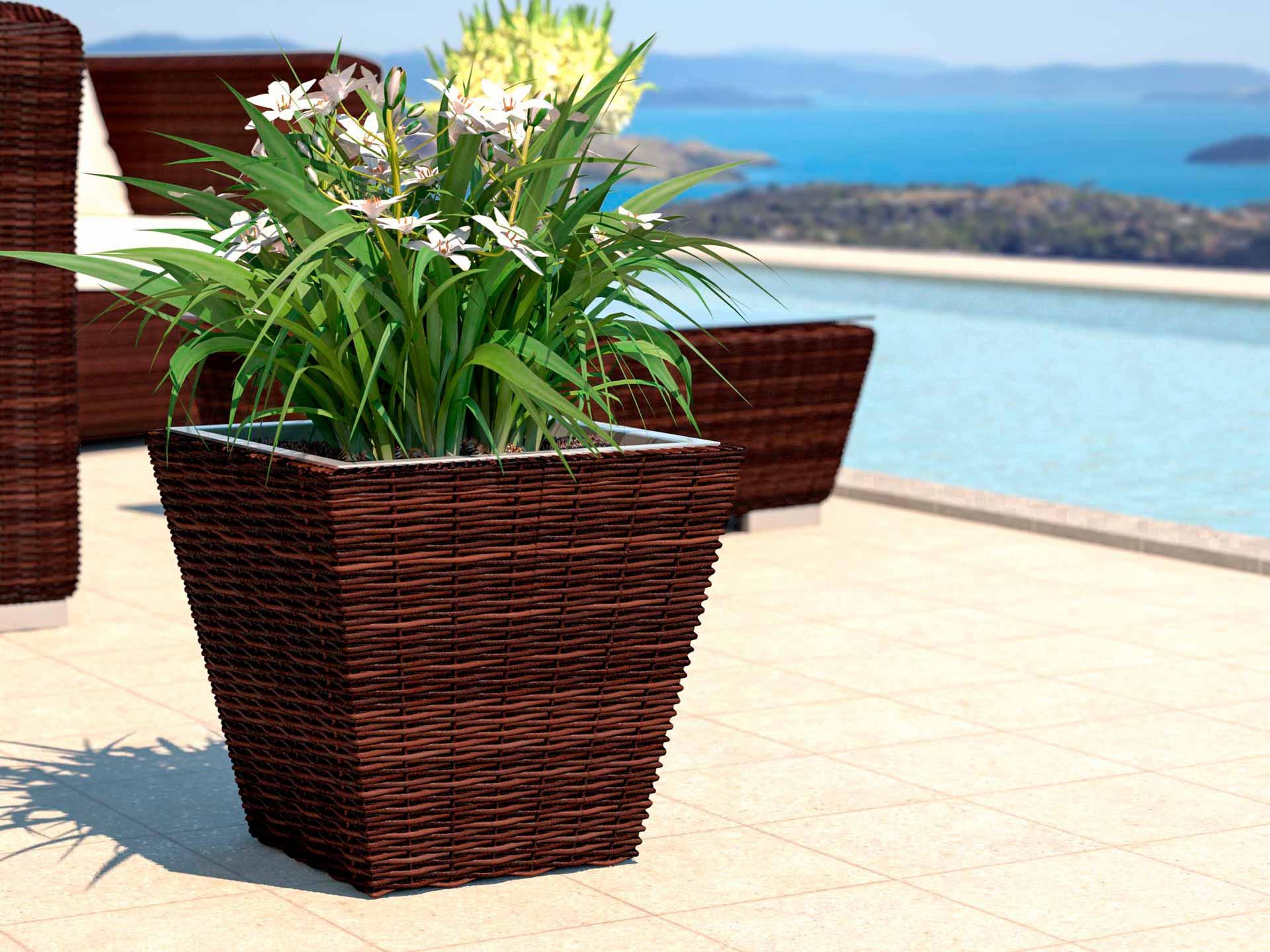 Plant pot Flora S