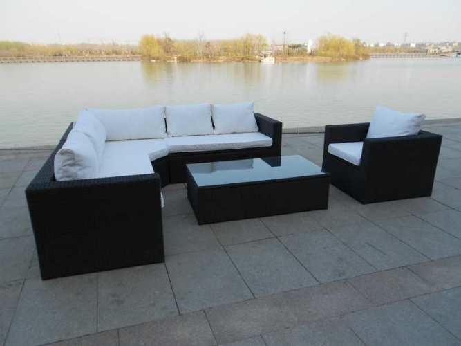 Artelia Outdoor Rattan Corner Sofa Set With Clever