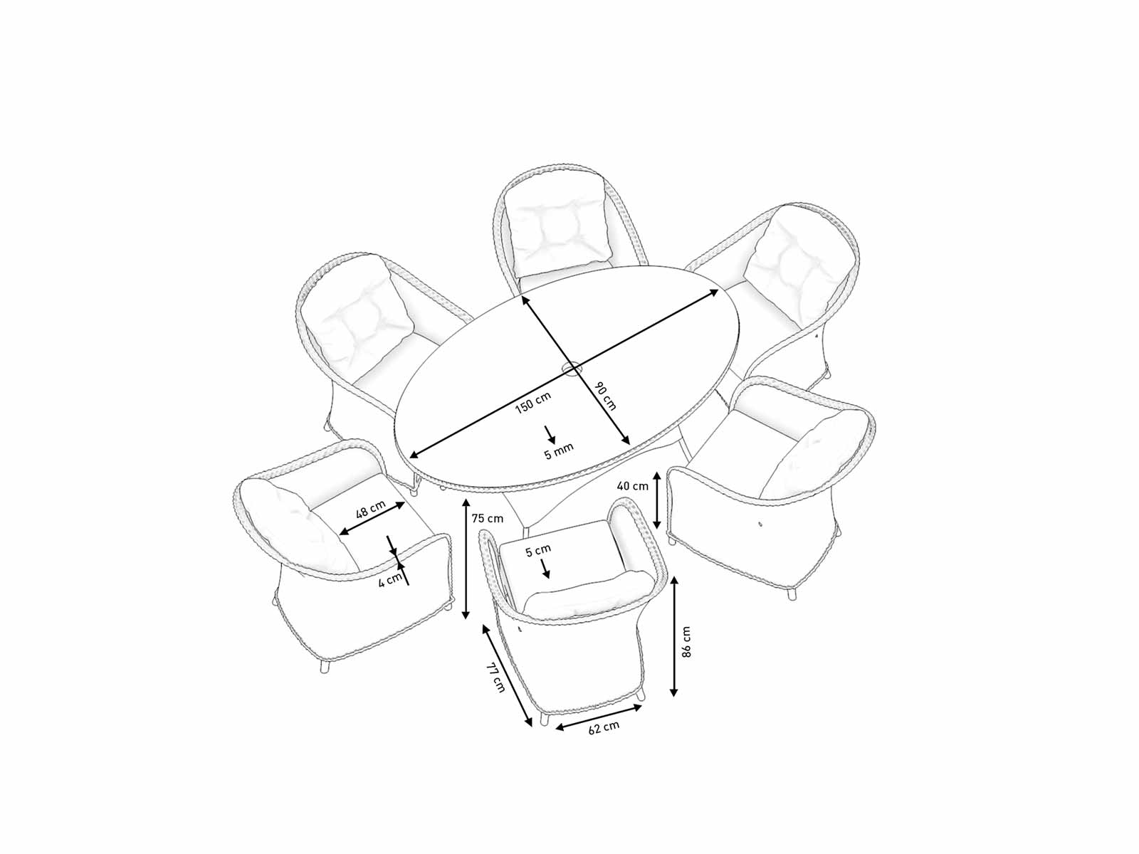 Product details and sketch