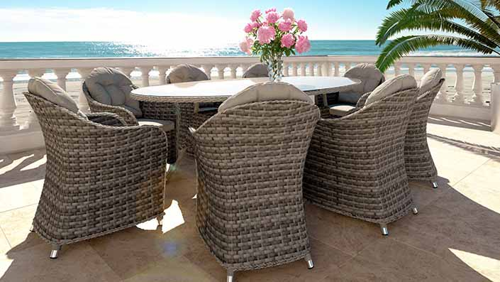 Livia XL - Rattan Dining Collection
