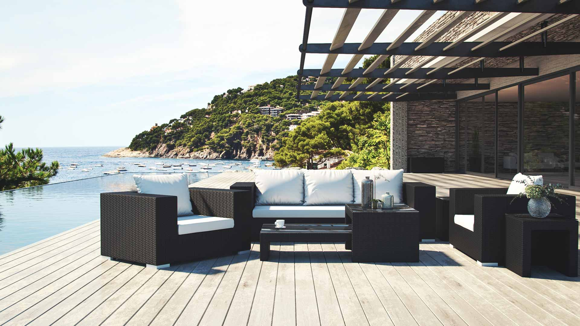 artelia garden furniture set matelia