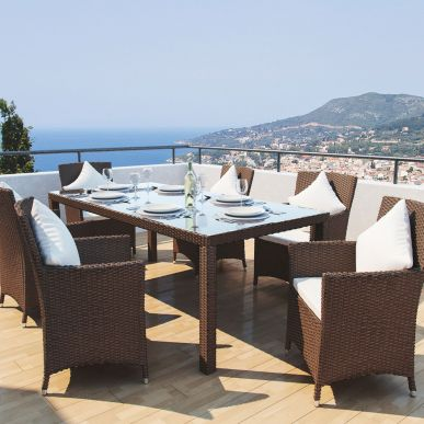 Rattan Dining Collection - Ceres L