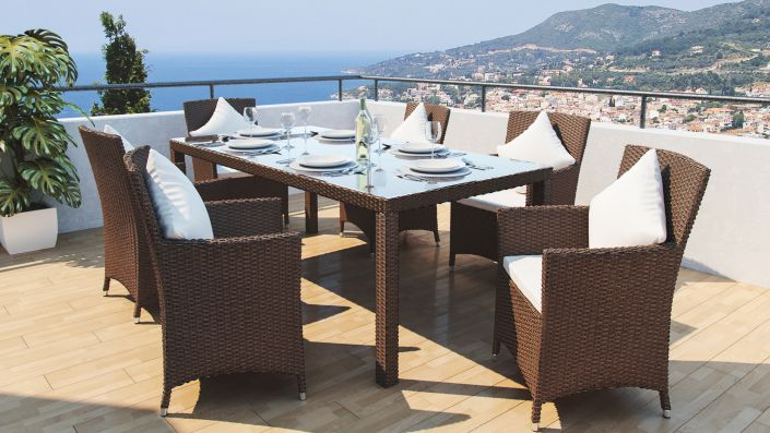 Ceres L - Rattan Dining Collection
