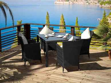 Rattan Dining Collection - Ceres S