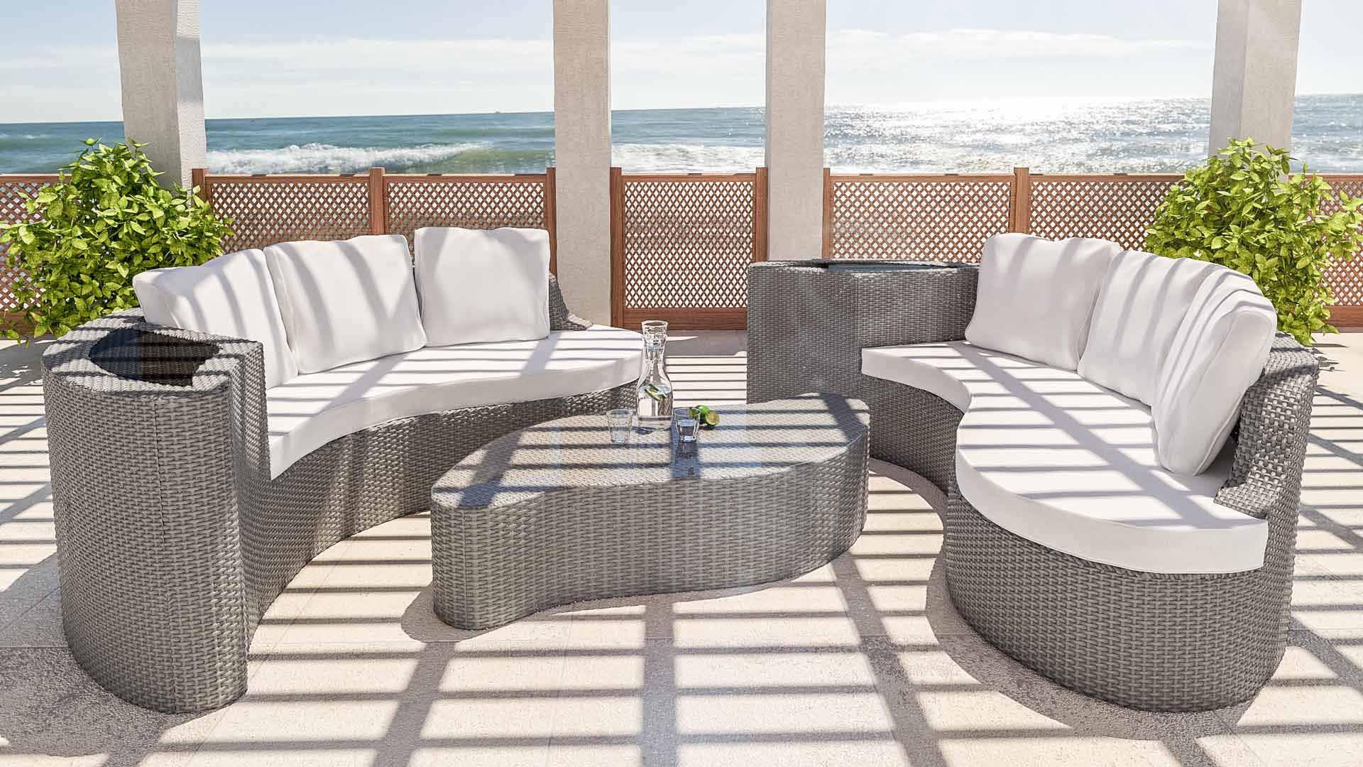 Artelia rattan garden furniture for your patio terrace or conservatory - Garden furniture ideas fun good taste ...